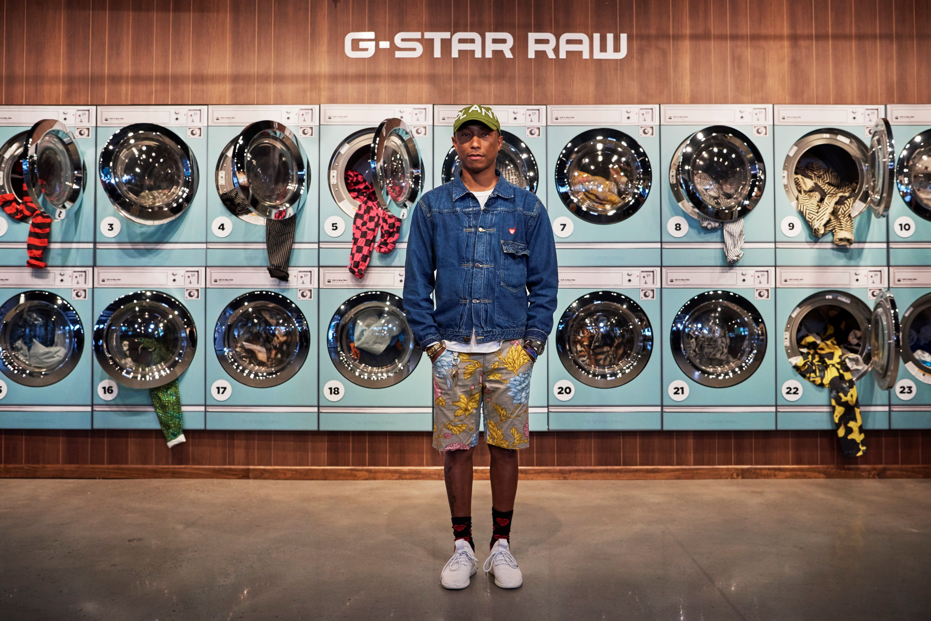 72ddf1c843f4 G-Star RAW and Pharrell Williams launch second edition of the G-Star Elwood  X25. Challenging the standards of style