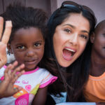 FIGHTING AIDS WITH SALMA AND GUCCI